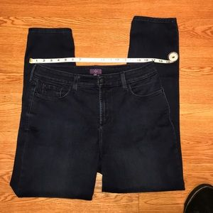 NYDJ size 14 Leggings EUC Dark Blue lift & tucks